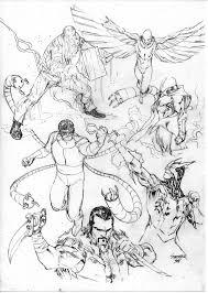76 sinister 6 images marvel comics sinister 6