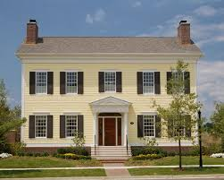 Simple Colonial House Plans Get The Look Colonial Style Architecture Traditional Home