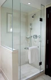 bathroom shower door ideas shower glass door for a sleek look in your bathroom home decor news