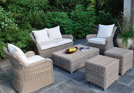 Outdoor Patio Furniture Wicker Glamorous Gray Wicker Outdoor Furniture Home And Interior Home