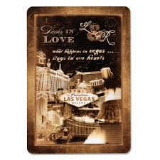 vegas wedding invitations las vegas wedding invitations vintage grunge card