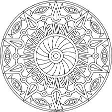 coloring pages to find printable mandalas and other complex