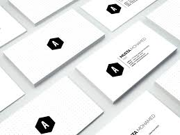 clean minimal business card 01 business card templates