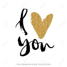 you it you buy it s day heart i you i heart you valentines day calligraphy glitter card