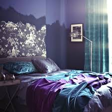 purple bedroom decor what color goes good with for home in and