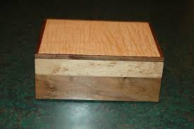 custom made walnut birdseye maple curly maple box by wooden it be