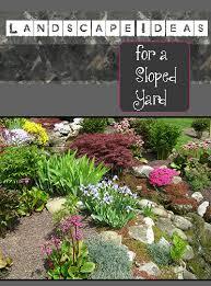 Sloped Backyard Landscape Ideas Triyae Com U003d Backyard Ideas For A Sloped Yard Various Design