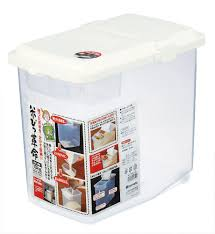 What To Put In Kitchen Canisters Amazon Com Japanbargain S 1826 Japanese Plastic Kome Bitsu Raw