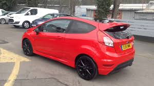 ford fiesta 1 0 zetec s red edition 3dr 140ps in for sale at