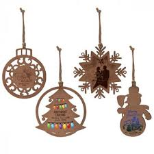 wooden christmas ornaments make holidays happy with our unique promotional christmas