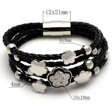 leather bracelet with charm images Leather bracelet with charms best bracelets jpg