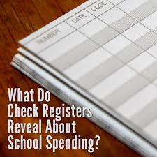 check registries alabama school connection what do check registers reveal about