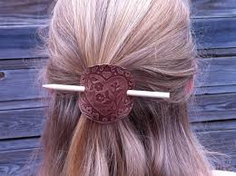 hair sticks leather hair sticks excellent gift idea mixology crafts