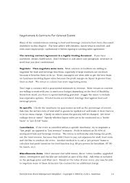master service agreement template itil service level agreement