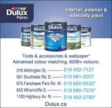 dulux paints london on 216 wellington st canpages