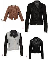 winter biker jacket top 10 winter must haves oh so chic