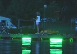 hydro glow fishing lights hydro glow dm260 120v dock mounted fishing light blue fish light
