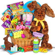filled easter baskets a tisket a tasket what to put in an easter basket