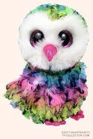 owen ty beanie boo owl