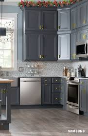 Gray Kitchen Cabinets Kitchen Paint Colors To Go With Gray Cabinets Grey Kitchen Units