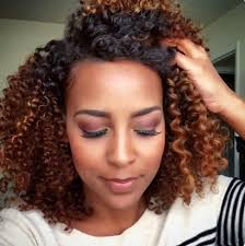 pictures of blonde highlights on natural hair n african american women anti aging foods honey brown curly hair coloring and blonde color