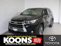 toyota new suv car new toyota specials in annapolis maryland