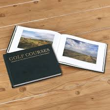 leather bound coffee table book