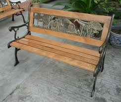 kids outdoor bench view promotion children outdoor animal benches