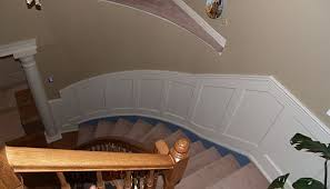 Recessed Handrail Wainscoting Packages For Stair Cases I Elite Trimworks