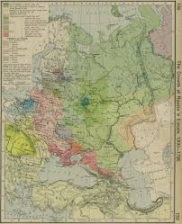 Ethnic Map Of Europe by Historical Maps Of Russia
