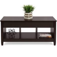 modern lift top coffee table w hidden storage espresso u2013 best
