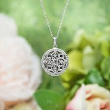 locket ornament elsie locket necklace silver lockets necklaces shop all