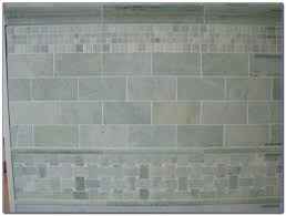 tumbled marble subway tile kitchen backsplash tiles home