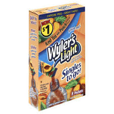 wyler s light singles to go nutritional information wyler s light low calorie soft drink mix reviews viewpoints com