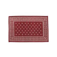 Round Burgundy Rug Plottokyo Rakuten Global Market Cross Bandanna Rug