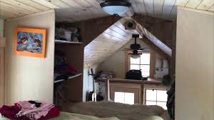 tiny house on wheels loft tour youtube