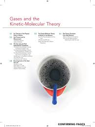 kinetic theory of gas pascal unit gases