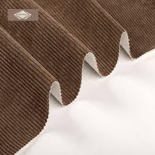 china polyester microfiber corduroy sofa fabric from hangzhou