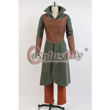Galadriel Halloween Costume Hobbit Elf Tauriel Cosplay Costume Halloween