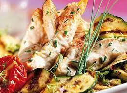 cuisiner des aiguillettes de poulet comment préparer des aiguillettes de poulet aux courgettes grillées