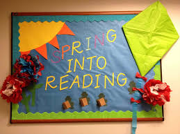 spring library bulletin board ideas siudy net