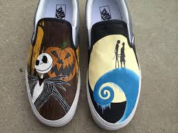 painted canvas shoes custom canvas sneakers shoes painted