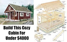 How To Build A Cottage House Build This Cozy Cabin Diy Shtf Emergency Preparedness And
