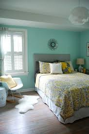 Teal And Grey Bedroom by 25 Best Blue Yellow Rooms Ideas On Pinterest Blue Yellow