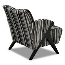 Black And White Striped Accent Chair Great Contemporary Accent Chairs With Wood Arms Property Decor