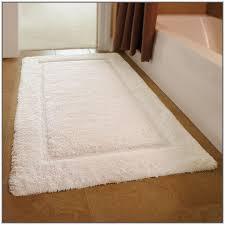 Bathroom Rug Runner Washable Bath Rug Runner Reversible Creative Bathroom Decoration
