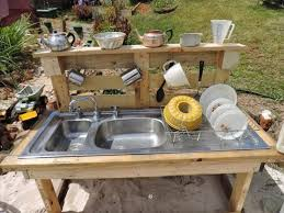 outside kitchen ideas recycled pallet wood outdoor kitchen pallet wood projects
