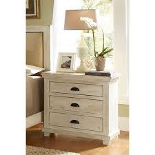 Progressive Willow Bedroom Set Willow Distressed White Nightstand Progressive Furniture