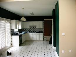 amazing black and white kitchen tile floor designs ideas with l