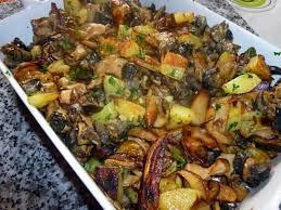 cuisiner des cepes frais fricassée de cèpes escargots et pommes de terre nouvelles recipe